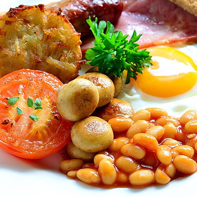 イギリス料理の決定版? イングリッシュブレックファスト/English Breakfast