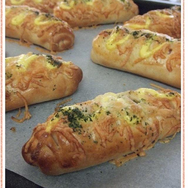 6月のおうち*Bakery くるくるチーズベーコン