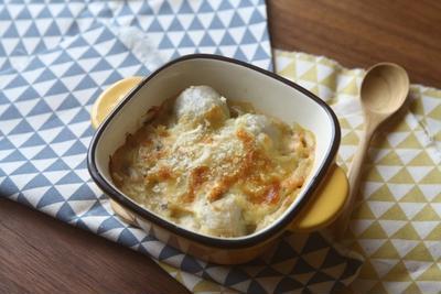 里芋と鮭のグラタン