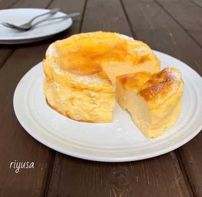 【お礼企画・レシピ編】お豆腐のベイクドチーズケーキ