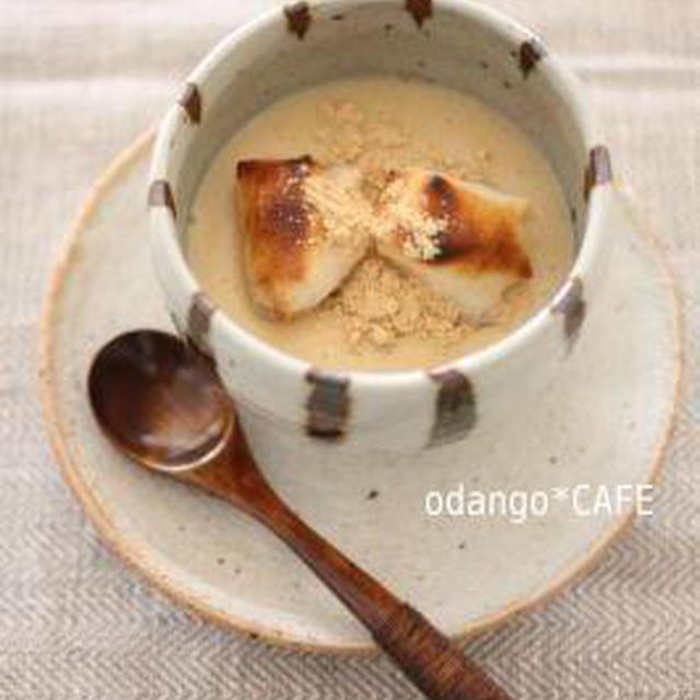 米粉でとろり♪豆乳きなこのクリームぜんざい