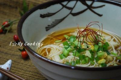 柚子ネギにゅう麺
