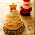 * クリスマスツリー ♥ モンブラン♪