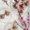 【和菓子】初挑戦のレンチンで作る道明寺粉の桜餅!と姫の謎の甘いもの分類…