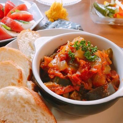 簡単♡たっぷり野菜のラタトゥイユ