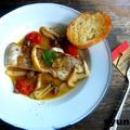 【簡単!!魚レシピ】きのこのアクアパッツァと、おうちカフェごはん掲載のお知らせ