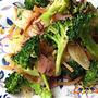 韓の食菜「チャプチェ」を使って、緑鮮やかブロッコリーのチャプチェ。