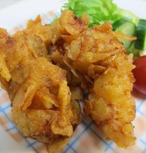 鶏胸肉のクリスピーチキン