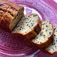 米粉&米油で☆黒ごまきな粉のバナナケーキ