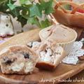 黒豆煮汁リメイク☆黒豆とクリームチーズのマフィン、Wiiデビュー