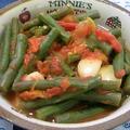 いんげんの汁だくトマト煮