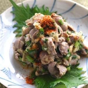 コリコリ食感がたまらない!お酒がすすむ「砂肝和え」レシピ