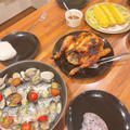 晩御飯はコストコ風チキンです!!