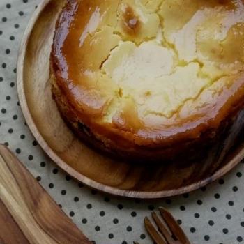 敬老の日のモンブランチーズケーキ