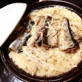秋の味覚!土鍋で秋刀魚の炊き込みご飯♩