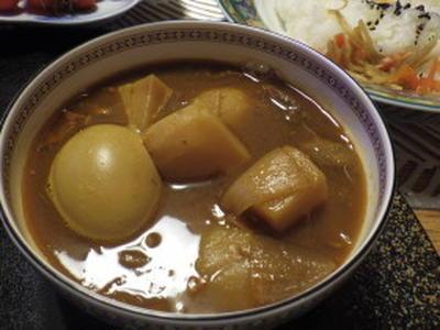 手羽元カレースープ そのままスープでもごはんと一緒にでも、どちらでも(^_-)-☆
