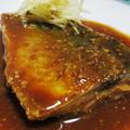 サバの味噌煮<赤色の津軽味噌でコク>