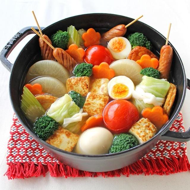 豆腐とトマトの洋風おでん