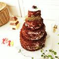 4段のシュバルツヴェルダーキルシュトルテ《誕生日ケーキ2019》