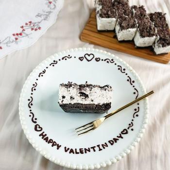 【オーブン不要!オレオチーズケーキ】