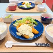 【献立】ばんごはん/白身魚フライ/わさびタルタルソース/クリームシチュー《2/19 夕飯》