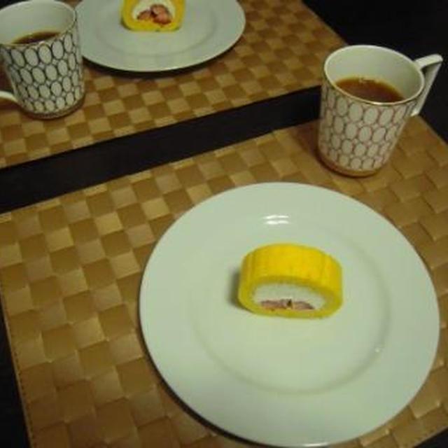 『苺のローカーボ・恵方ロール』で節分の朝食
