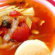 春かぶとセロリのトマトスープ♪