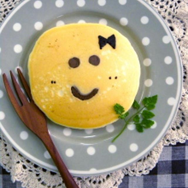 しっとりふわふわパンケーキ★