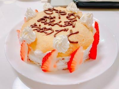 【成人式】米粉のいちごミルクレープ