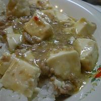 味噌風味の麻婆豆腐