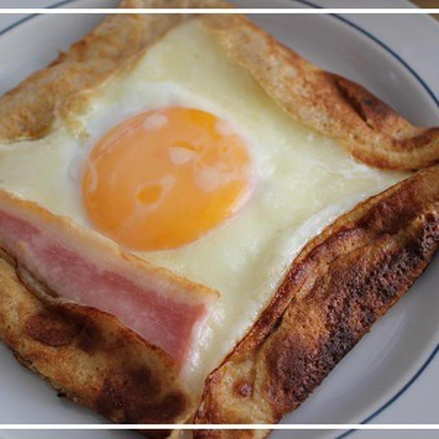 ライ麦粉でつくるガレット♪日曜朝食♪