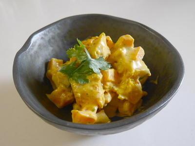 かぼちゃサラダミックスで作るカロテンサラダ