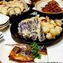 天ぷら盛りだくさん & ごぼうと牛肉のしぐれ煮 など