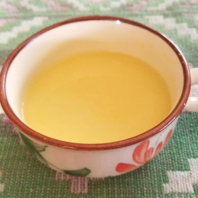 トウモロコシでコーンスープ
