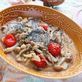 サバ缶ときのこのアクアパッツァ風【旨味たっぷりロカボパッツァ】|レシピ・作り方 by 筋肉料理研究家Ryotaさん