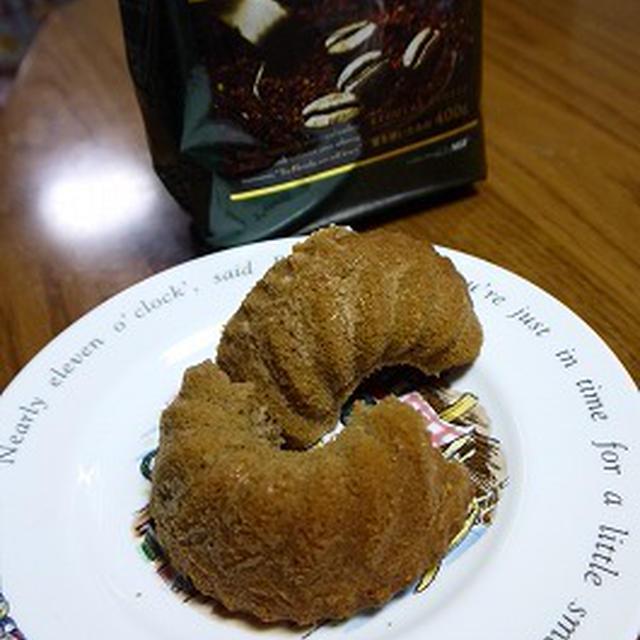 コーヒースポンジクグロフケーキ