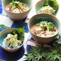豆乳トマト素麺 レシピ