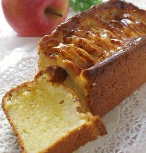 りんごとシナモンのチーズケーキ