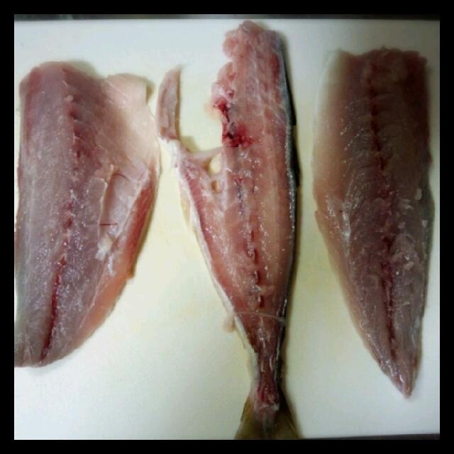 魚をさばく