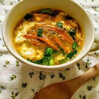 にんじんのベジヌードル入り春雨スープ