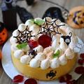■ハロウィンに作った かぼちゃのレアチーズムースケーキ★