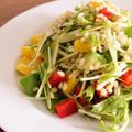 【美容レシピ】もち麦とアボカドのカラフルサラダ♪