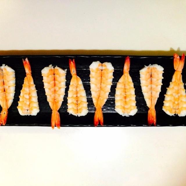 ☆寿司海老の作り方(ロール巻子流)☆