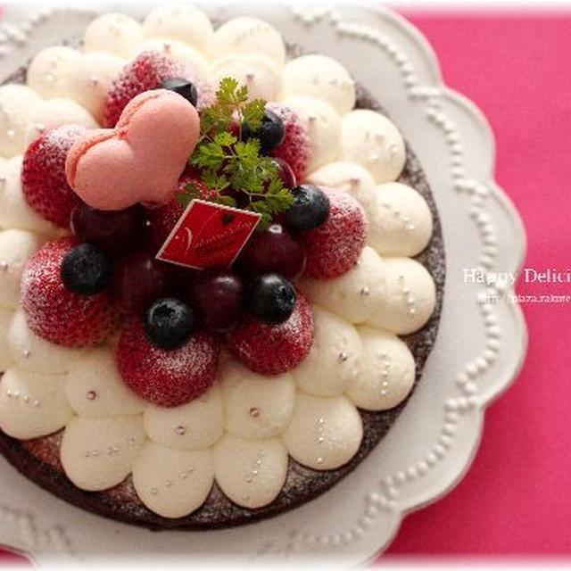cottaさんでバレンタインレシピ『ベリーなチョコタルト』