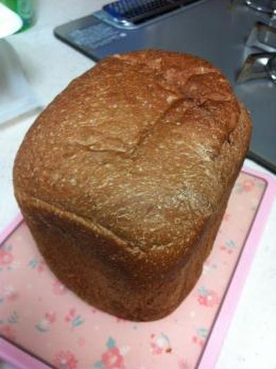 配合を間違えて失敗したミロ食パン