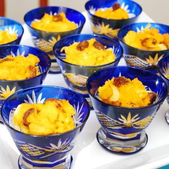 2012年 クリスマス料理 かぼちゃのサラダ