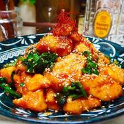 節約食材でごはんがすすむ!「鶏むね肉とニラ」のボリューム炒め