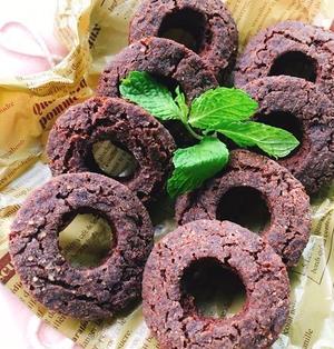 【ミスドチョコレートドーナツ】風!ココアと甘酒のドーナツ