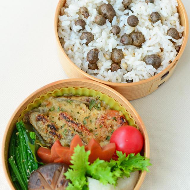 10月27日 火曜日 牛蒡と高野豆腐のグラタン&むかごごはん