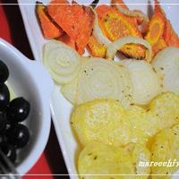 野菜のディナー